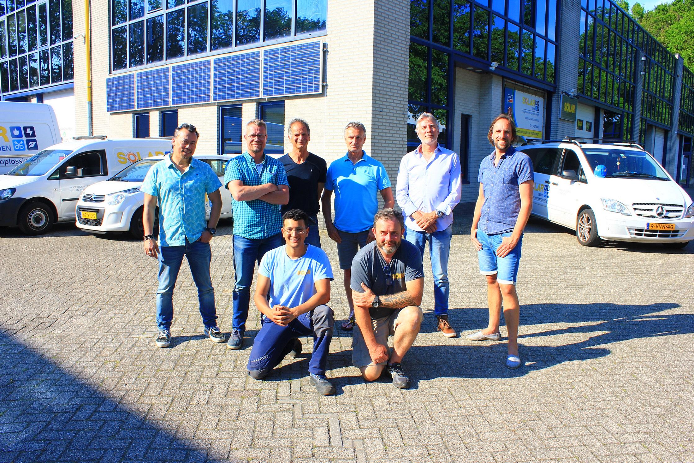 Groepsfoto Solar Leiden